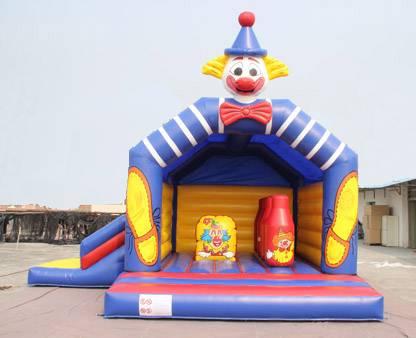 Springkasteel Clownpret