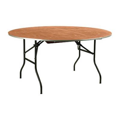 klaptafel rond