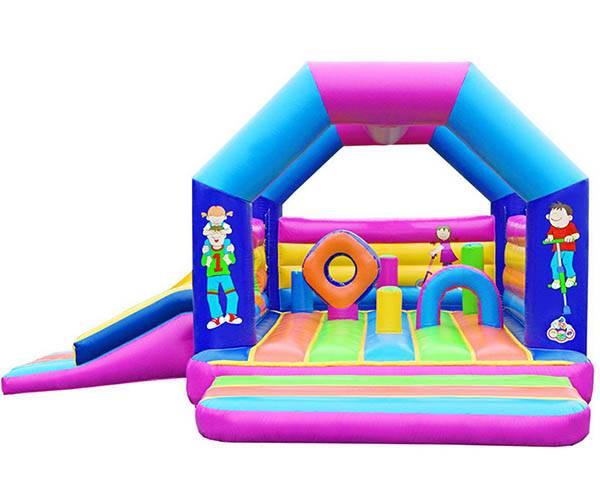 Springkasteel Multiplay met slide