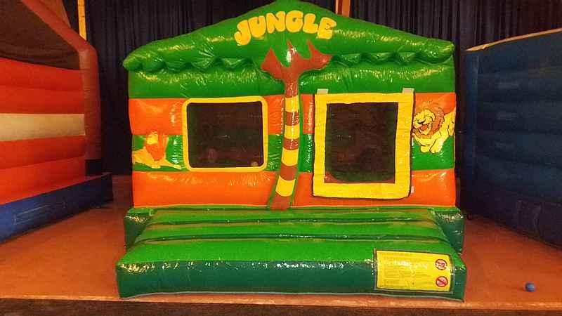 Springkasteel Jungle Fun