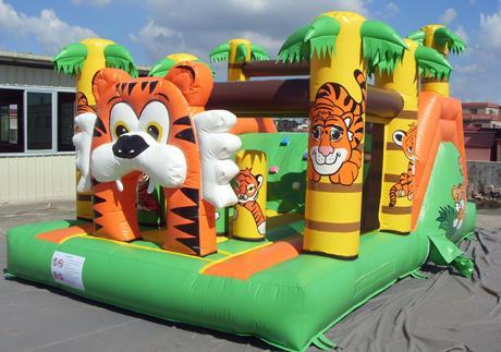 springkasteel tijger