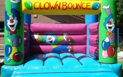 springkasteel clowntje