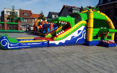 springkasteel super krokodil